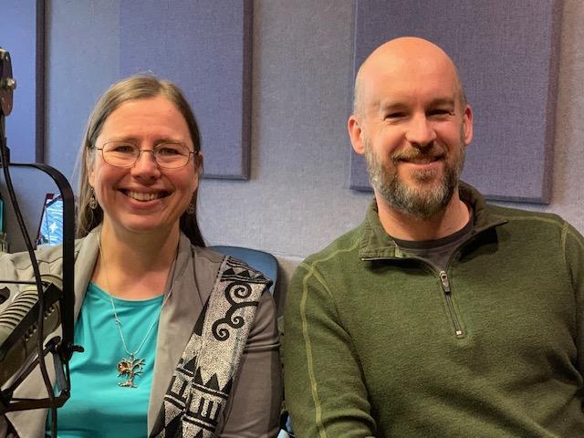 Sarah Zettel and Brendan Chard